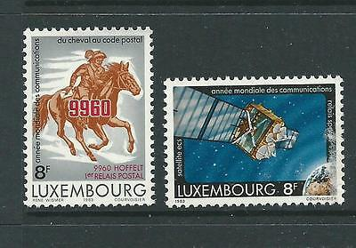 1983 World Communication Year set of 2  Complete MUH/MNH as Issued