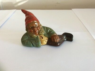 Antique German Santa Claus Elf Ceramic Rare