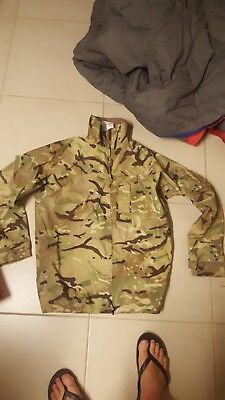 Army multicam waterproof breathable jacket, british or nz