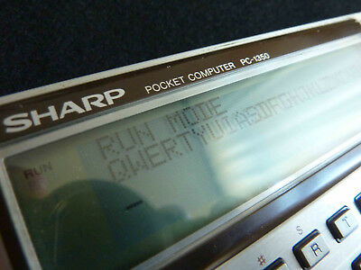 Vintage Sharp PC-1350 Pocket Computer Calculator – Japan 1984