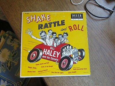 Bill Haley And His Comets: Shake Rattle And Roll RARE 10 INCH Bitte Text Lesen