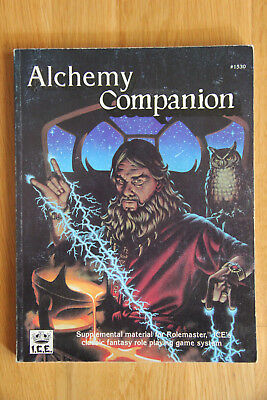 ICE - Rolemaster Alchemy Companion (1992)