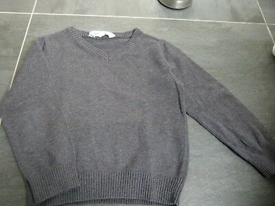 pull gris 2-3 ans