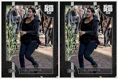 2x ON THE MOVE WHITE TARA CHAMBLER WAVE 1 Topps Walking Dead Digital Card Trader