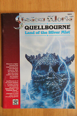 ICE - Rolemaster Shadow World: Quellbourne - Land of the Silver Mist (1989)