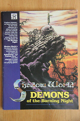 ICE - Rolemaster Shadow World: Demons of the Burning Night (1989)