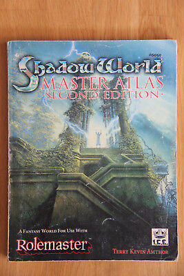 ICE - Rolemaster Shadow World: Master Atlas Second Edition (1992)