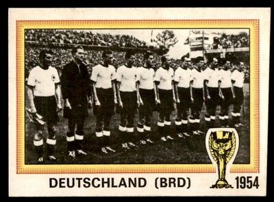 Panini Argentina 78 - Champions West Germany History: WC 1954 No. 16