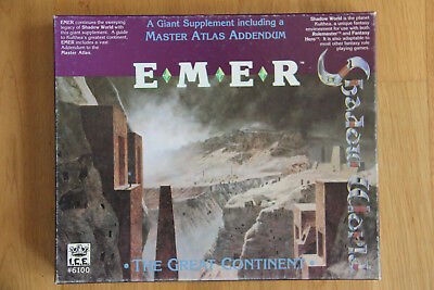 ICE - Rolemaster Shadow World: Emer - The Great Continent (1990)