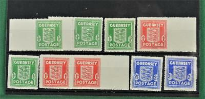Gb 9 Guernsey Channel Island Occupation Stamps  U/m  (S132)