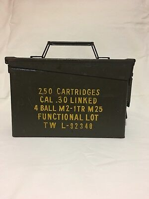 Metal Military Ammo Can Pre-Owned