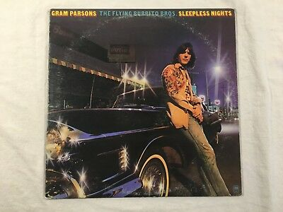 Vinyl Schallplatte LP Gram Parsons / The Flying Burrito Bros. Sleepless Nights