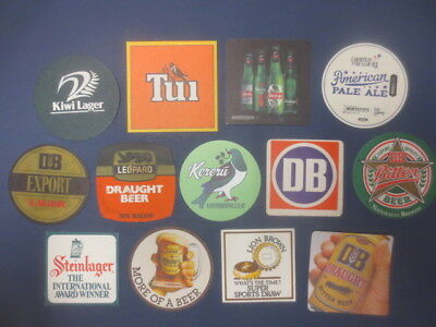13 different NEW ZEALAND Beer /Breweries  Issue, BEER  COASTERS