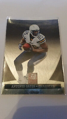 Panini Donruss Elite 2011 Antonio Gates #80 Chargers Trading Card NFL Football