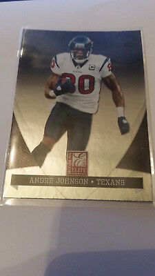 Panini Donruss Elite 2011 Andre Johnson #39 Texans Trading Card NFL Football
