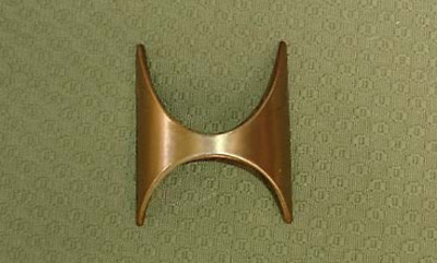 Broyhill Brasilia Drawer pull - fit all pieces except nightstand and serving ca
