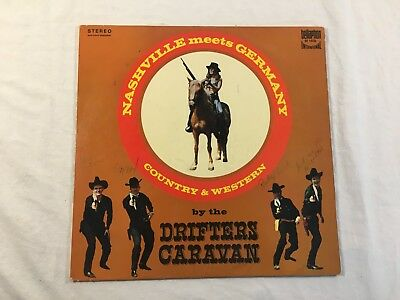 Vinyl Schallplatte LP - The Drifters Caravan - Nashville meets Germany - BI 1520