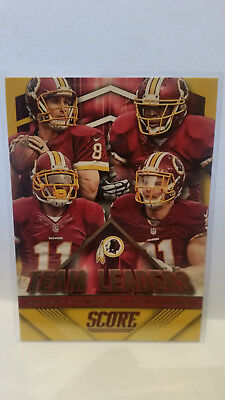Panini Score 2015 Team Leaders Cousins #8 Redskins Trading Card NFL Football