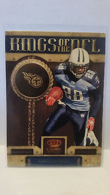 Panini Crown Royale 2011 Chris Johnson #8 Titans Trading Card NFL Football