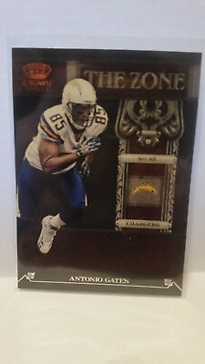 Panini Crown Royale 2011 Antonio Gates #19 Chargers Trading Card NFL Football
