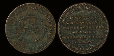 Great Britain: C19th Liverpool token - unresearched
