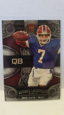 Panini Crown Royale 2011 Doug Flutie #11 Bills Trading Card NFL Football