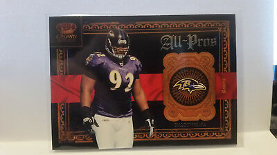 Panini Crown Royale 2011 Haloti Ngata #8 Ravens Trading Card NFL Football