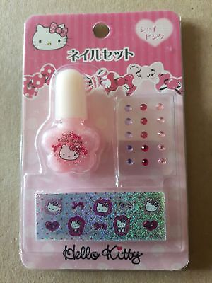 Hello kitty Nagellack + Nagelsticker  Neu