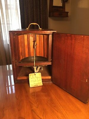 Antique US Patent Model 1878 Improvement in Set-back Sinks