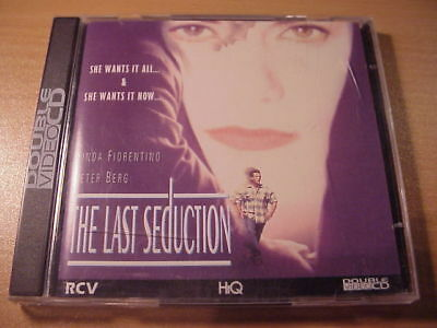 VCD - THE LAST SEDUCTION  - Double Video CD/CDI - 1993 - Linda Fiorentino
