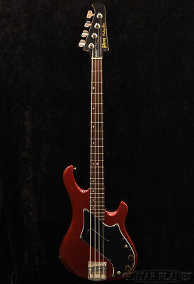 Gibson Victory Bass Standard Candy Apple Red 1981 Electric Bass, o8080