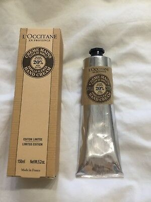 L'Occitane Vanilla Ltd Edition Shea Butter Hand Cream 150mls BRAND NEW IN BOX