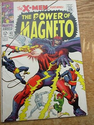 X-Men #43, The Power of Magneto, Silver Age Marvel