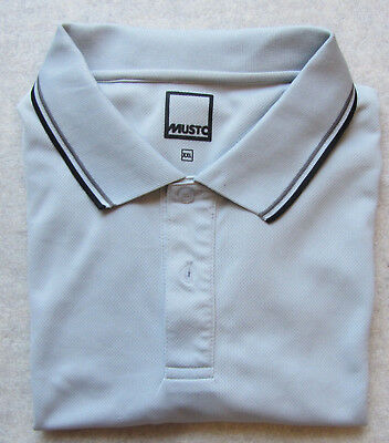 Polo Shirt, Musto Evolution, Gr. XXL, Funktions-Shirt, 100% Polyester