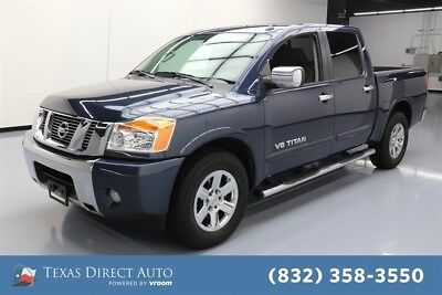 2015 Nissan Titan SV Texas Direct Auto 2015 SV Used 5.6L V8 32V Automatic RWD Pickup Truck
