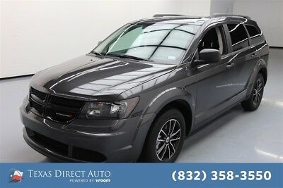 2018 Dodge Journey SE Texas Direct Auto 2018 SE Used 2.4L I4 16V Automatic FWD SUV Premium