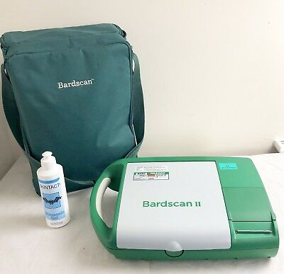 Bard Bardscan Ii Touchscreen Ultrasound Bladder Scanner Urology + Bag & Gel
