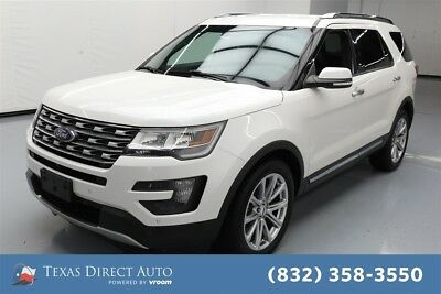 2016 Ford Explorer Limited Texas Direct Auto 2016 Limited Used 3.5L V6 24V Automatic FWD SUV