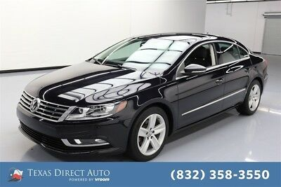 2013 Volkswagen CC Sport Texas Direct Auto 2013 Sport Used Turbo 2L I4 16V Automatic FWD Sedan Premium