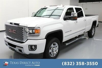 2016 GMC Sierra 3500 Denali Texas Direct Auto 2016 Denali Used Turbo 6.6L V8 32V Automatic 4WD Pickup Truck