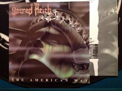 SACRED REICH - THE AMERICAN WAY Org 1.Press Roadracer 1990