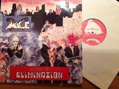 MACE - PROCESS OF ELIMINATION Org Press Enigma 1985