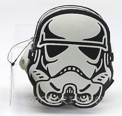Disney Star Wars Stormtrooper Coin Purse Change Purse by Loungefly NWT