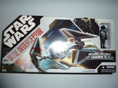 Star Wars 30th Anniversary Collection Elite Tie Interceptor - Hasbro - selten -