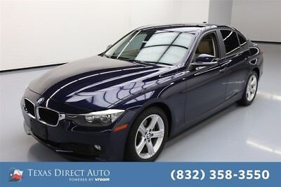 2015 BMW 320 320i Texas Direct Auto 2015 320i Used Turbo 2L I4 16V Automatic RWD Sedan Premium