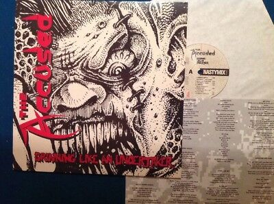THE ACCÜSED - GRINNING LIKE AN UNDERTAKER Org 1.Press Nastymix 1990