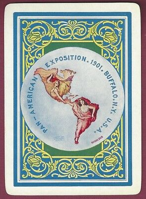 Pan American Exposition Playing Card, Buffalo, New York, 1901