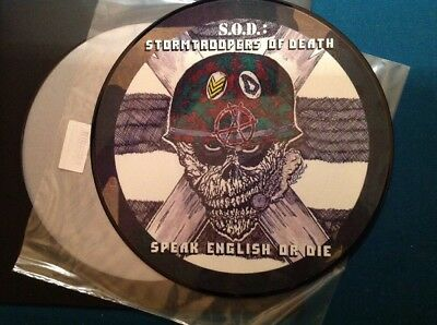 S.O.D. - SPEAK ENGLISH OR DIE Picture Limited(1000) Org SPV 2004