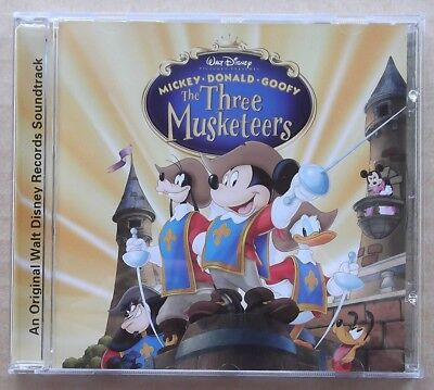 The Three Musketeers / Die drei Musketiere - Walt Disney Records Soundtrack OST