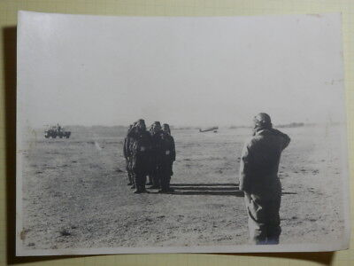 WW2 Japanese Picture of the navy flying corps school.Very Good